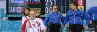Suomi taipui kahdesti MM-pyörätuolicurlingin toisena pelipäivänä.