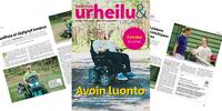 Kuntien erityisliikunnan hienoimmat käytännöt ja suurimmat haasteet esittelyssä Vammaisurheilu & -liikunta -lehdessä.