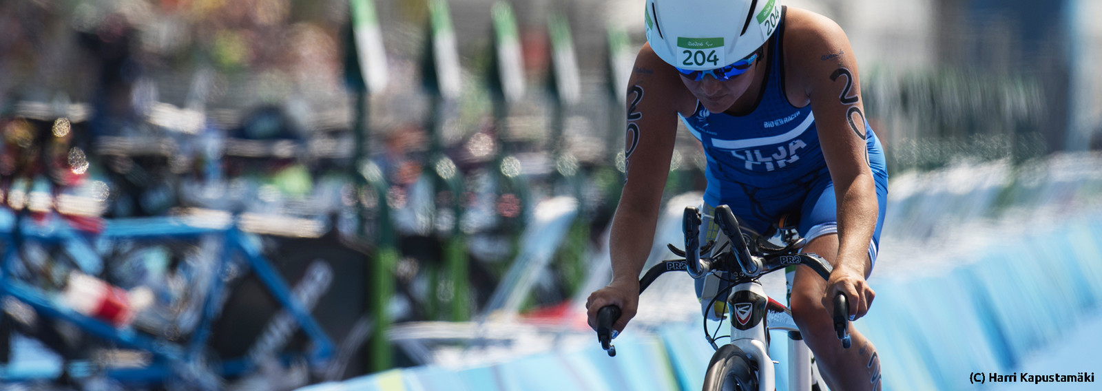 Otsikkokuva aiheesta Triathlon