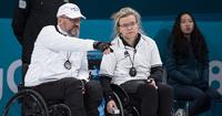 Pyörätuolicurlingjoukkueella kahden tappion tiistai Pyeongchangissa.