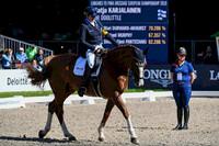 Suomelle maapaikka Tokion paralympialaisiin Katja Karjalaisen ratsastamana.