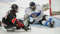 Japani päihitti Suomen parajääkiekon B-sarjan MM-kilpailuissa.