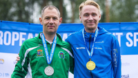Aholainen ja Helander isäntämaan mitalirohmut Vantaan EM-kilpailuissa perjantaina.