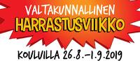 Seurat ja yhdistykset: Tarjoutukaa mukaan valtakunnalliseen harrastusviikkoon 26.8.–1.9..