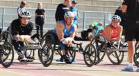 Paralympiajoukkueen yleisurheilutähdet mukana Jyväskylän SM-kilpailuissa .