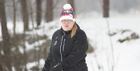 """Special Olympics -kisoihin lähtevä Elisa Aronen: """"Mitalikin on kiva, mutta ei se tärkein""""."""