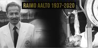 Penkkipunnerruksen paralympiavoittaja Raimo Aalto on kuollut.