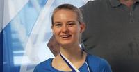 Hanna Vilmille uran toinen sokkopingiksen maailmanmestaruus.