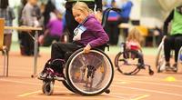 Olivia sai lisäinnostusta ratakelaukseen Junior Games -syyskisoissa.