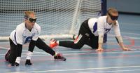 Naiset seitsemänsiä, miehet yhdeksänsiä maalipallon paralympiakarsintaturnauksessa.