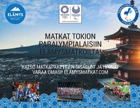 Tokion paralympialaisten lipunmyynti on alkanut – Elämysmatkat vie suomalaiset kisoihin.