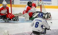 Suomi voitti Puolan ja säilytti paikkansa parajääkiekon MM-kilpailujen B-sarjassa.