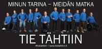 Tie Tähtiin -urheilijapooliin valittiin 12 valovoimaista vammaisurheilijaa.