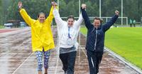 Sade keskeytti yleisurheilun.
