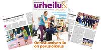 Syksyn Vammaisurheilu & -liikunta -lehdessä intohimoisesti asiaansa suhtautuvia urheilu- ja liikuntaihmisiä.