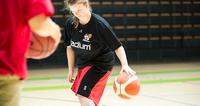 Special Olympics -koripalloviikko: Nette Tuominen on koripalloilija ja koripallovalmentaja.