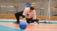 Suomen naisilla sopivan kova haaste Pajulahti Gamesin maalipallossa.