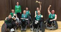Lahden Lokomotiville ensimmäinen pyörätuolirugbyn Suomen mestaruus.