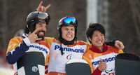 Matti Suur-Hamarille paralympiakultaa Pyeongchangissa.