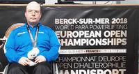 Janne Piipposelle hopeaa paravoimanoston EM-kilpailuissa Ranskassa.
