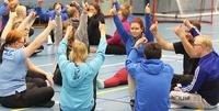 Sisujengi virittäytyy Special Olympics -maailmankisojen tunnelmaan Pajulahden valmistautumisleirillä.