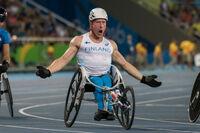 Rio 2016: Leo-Pekka Tähdelle neljäs peräkkäinen paralympiakulta, Latikka kuudes.
