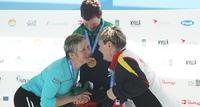 Anne Tirronen on vahvalla kilpailuvietillä varustettu elinsiirtourheilija.