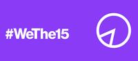 Helsingin päärautatieaseman kellotorni valaistaan torstai-iltana #WeThe15-kampanjan violetilla tunnusvärillä.