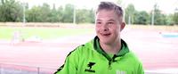 Down-urheilija Eliel Nikkola avaa VAU-videoiden sarjan.
