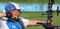 Antonioksen viides sija toi toisen jousiammunnan paralympiapaikan Suomeen.