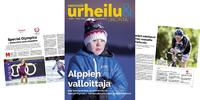 Ensikertalaiskokemusten värikäs kirjo esillä huhtikuunVammaisurheilu & -liikunta -lehdessä.