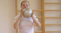 Saga Hänniselle kultaa kansainvälisistä rytmisen voimistelun Special Olympics -onlinekilpailuista.