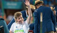 Marjaana Heikkinen esitti kauden parastaan Tokion paralympialaisten sijaan Turun SM-kisoissa.