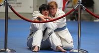 Special Olympics -kisat: Linda Naumann on judoka suurella sydämellä.