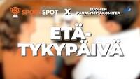 Tilaa organisaatiollesi Sportspot etä-tykypäivä ja tue Paralympiakomitean Valtti-ohjelmaa.