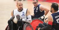 Suomelle kaksi tappiota pyörätuolirugbyn paralympiakarsinnan avauspäivänä.