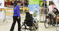 Liikuntamaa – Suomen suurin vammaisurheilun ja -liikunnan esittelytapahtuma Tampereella 5.–7.11..