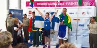Töyrylä ja Elo pitivät yllä Suomen keihäsmainetta Trisome Games -kisoissa Firenzessä.
