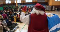 Boreniuksen ja Toyotan joululahjoituksista iloa lapsille ja koulukiertueelle.