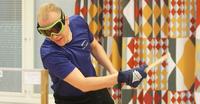 Suomen koko kuusikko jatkopeleihin sokkopingiksen MM-kilpailuissa Italiassa.