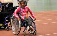 Junior Games toi jälleen vauhtia ja riemun kiljahduksia Hipposhalliin .