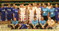 Suomen Unified-koripalloilijat tekivät ensiesiintymisen arvokilpailuissa.