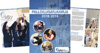 Vammaisurheilun joukkuepalloilulajien sarjakirja kaudelle 2018–2019 on täällä!.