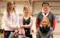 AMEO-tiimiin viisi nuorta vammaisurheilijaa.