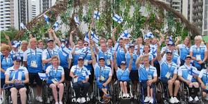 Suomen paralympiajoukkue Rion paralympialaisissa 2016