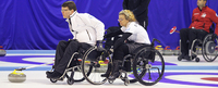 Suomi pelaa perjantaina pronssista pyörätuolicurlingin MM-kilpailuissa.