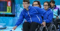 Suomella loistava päivä pyörätuolicurlingin MM-kilpailuissa.