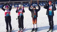 Nuorille Special Olympics -hiihtäjille kokemusta ja mitalejakin Otepäästä.