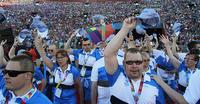 "Michelle Obama avasi Los Angelesin Special Olympics -kisat: ""Te annatte meille toivoa""."