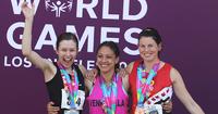 Noora Koposella menestyksekäs ja kivulias kisapäivä Special Olympics -kisoissa.